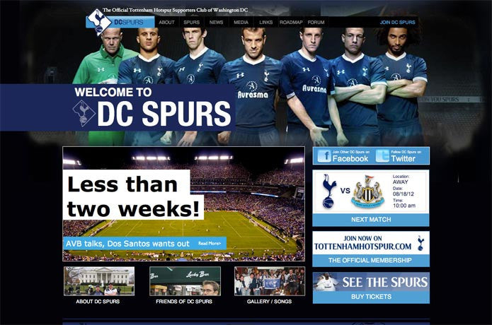 DC Spurs, United States