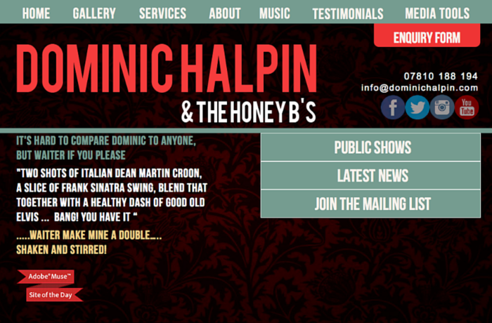 Dominic Halpin Swing Band, United Kingdom