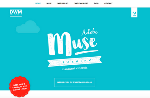 DWM Adobe Muse Training, Netherlands