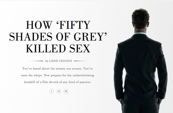 Fifty Shades of Grey, United States