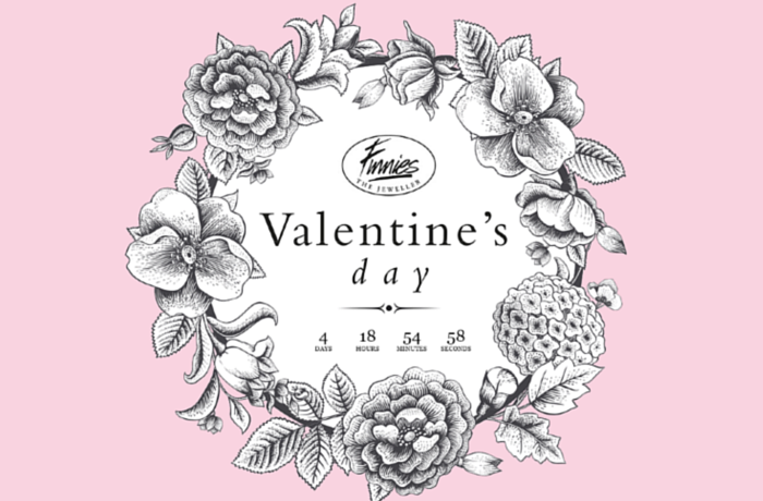 Finnies Valentines Day Promotion, United Kingdom