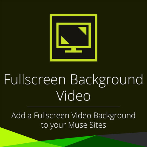 Fullscreen Background Video