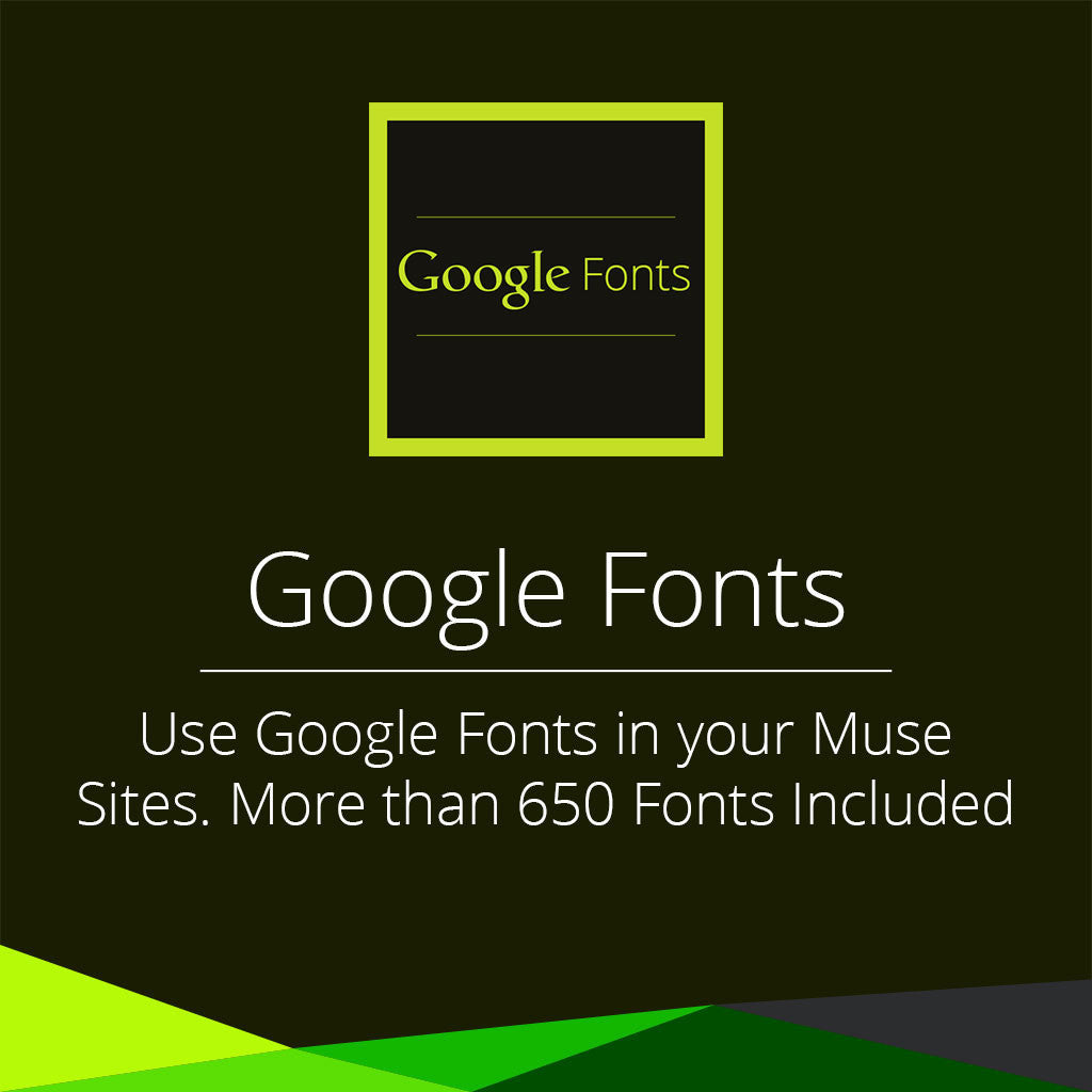 Google Fonts Widget