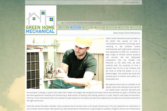 Green Home Mechanical, Canada