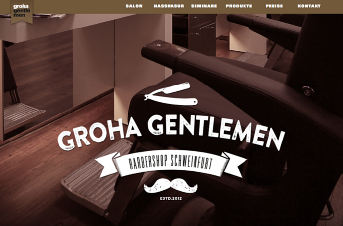 Groha Gentlemen Barbershop, Germany