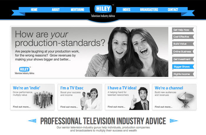 Hiley Television Industry Advice, United Kingdom