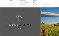 Hopes Grove Winery, New Zealand
