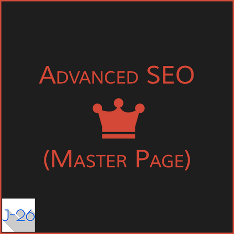 Advanced SEO (Master Page)