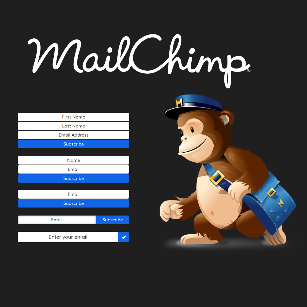Mailchimp (5 Widgets Included)