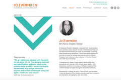 Jo Evernden Freelance Graphic Designer, United Kingdom