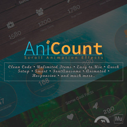 AniCount | Counter Animation Effects