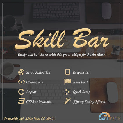 Skill Bar | Dynamic Graphics of Horizontal Bars