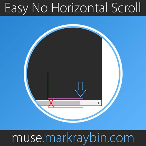 Easy No Horizontal Scroll