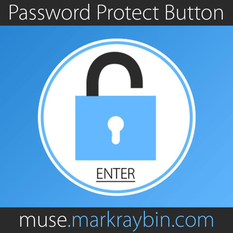 Easy Password Protect With Text Button