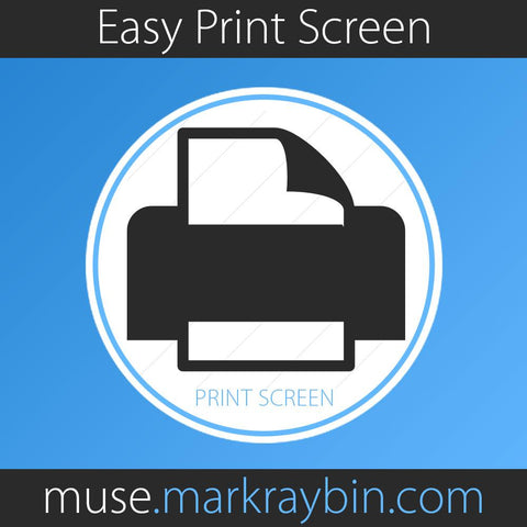 Easy Print Screen Button