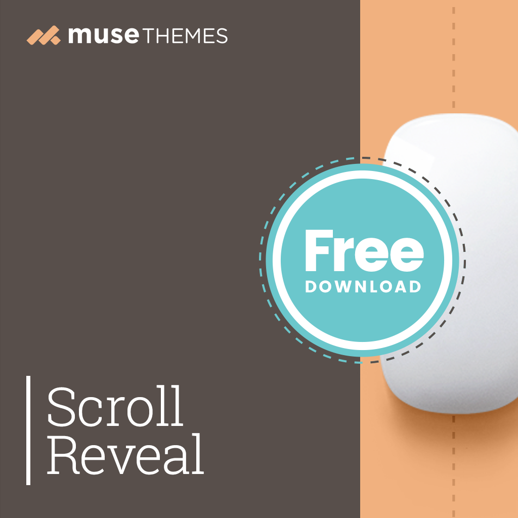 Scroll Reveal Adobe Muse Widget