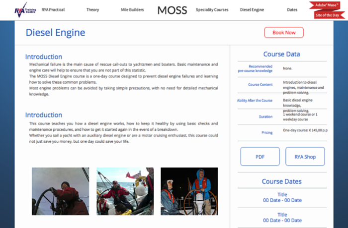 MOSS Sailing School, Netherlands