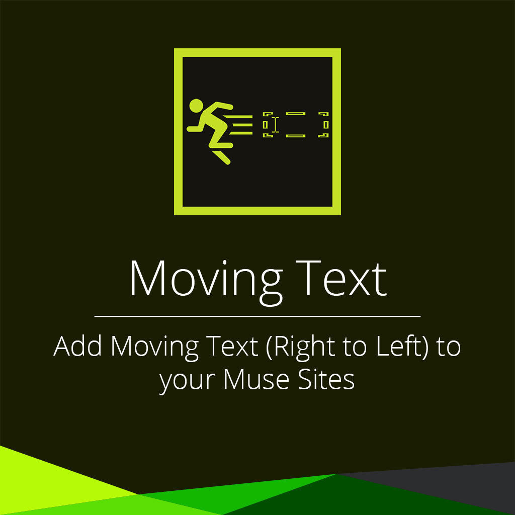 Moving Text Widget