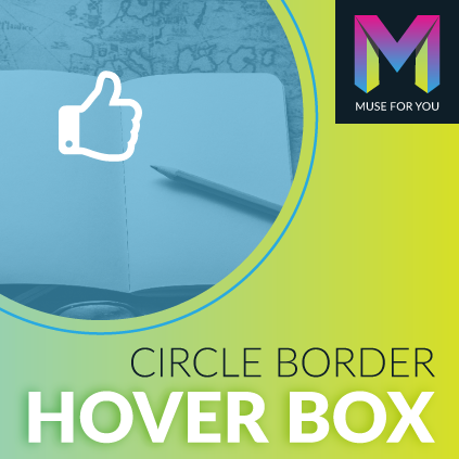 Circle Border Hover Box