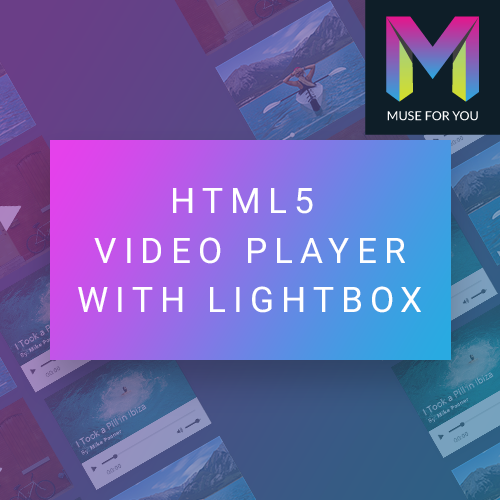 HTML5 Video Player with Lightbox