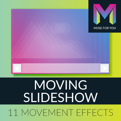 Adobe Muse CC | Moving Slideshow | Muse For You – Adobe Muse Widget