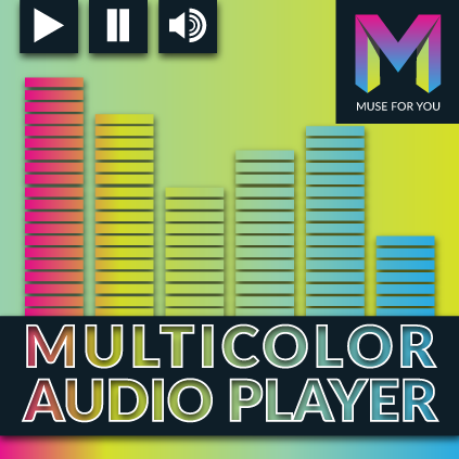 Multicolor Audio Player