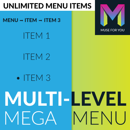 Multi-Level Mega Menu