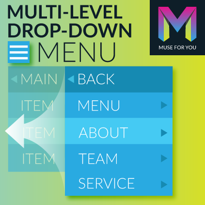 Multi-Level Drop-Down Menu