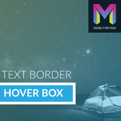 Text Border Hover Box