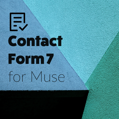 Contact Form 7 for Muse