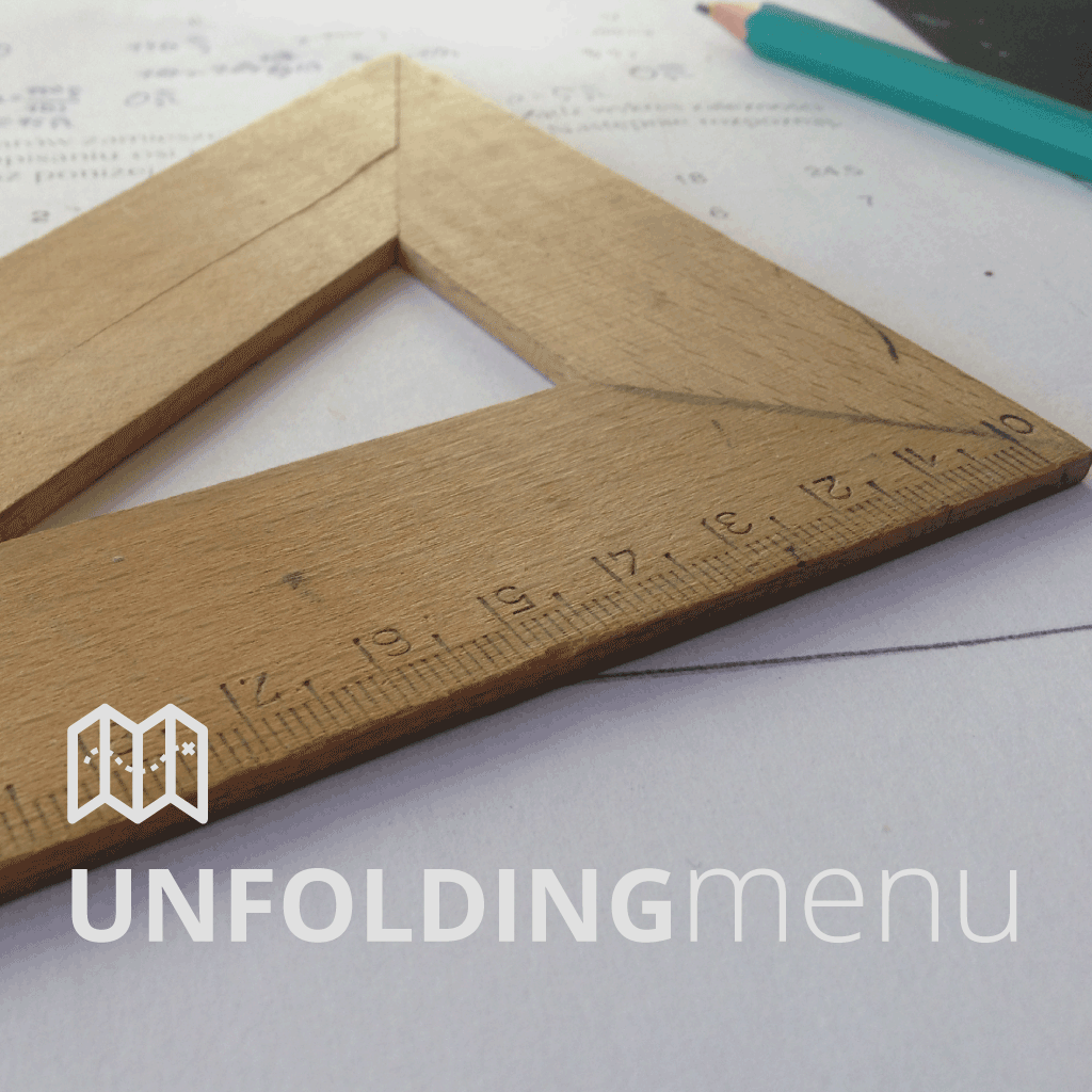Unfolding Menu
