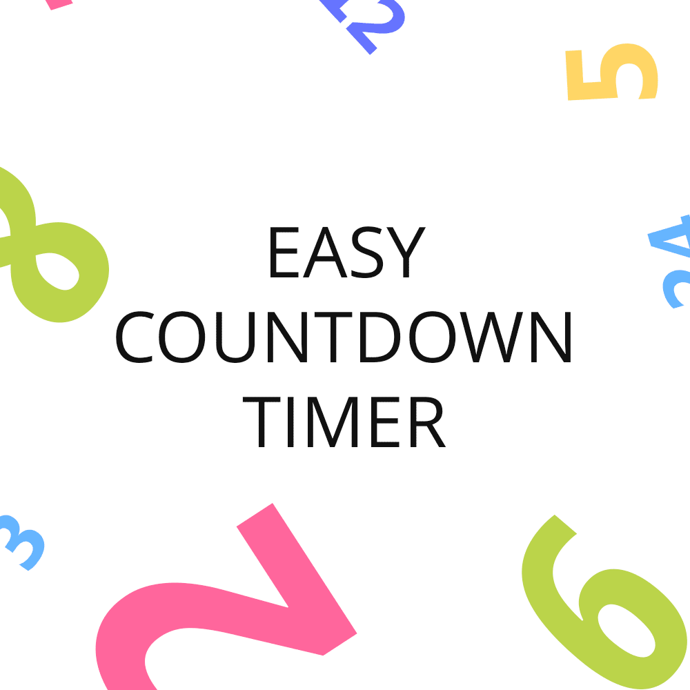 Easy Countdown Timer