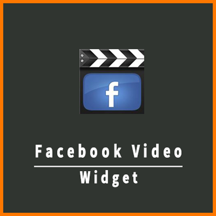 Facebook Video Widget