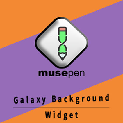 Galaxy Background Widget