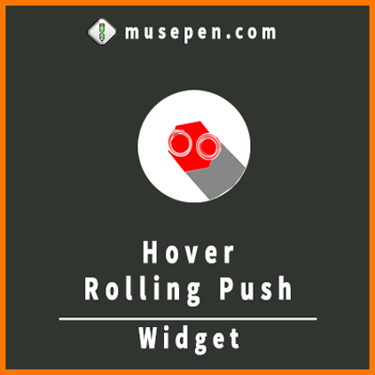 Hover : Rolling Push Widget