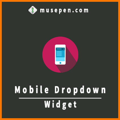 Mobile DropDown Menu Widget