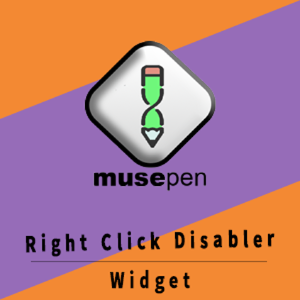 Right Click Disabler Widget