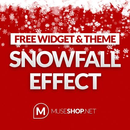 Snow Effect Widget