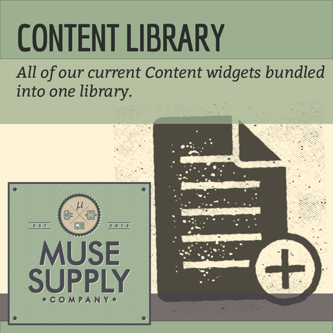LIBRARY: Content Widgets