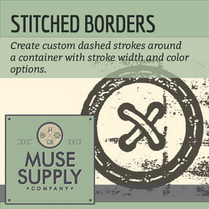 Stitched Borders