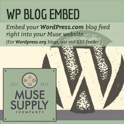 WP Blog Embed