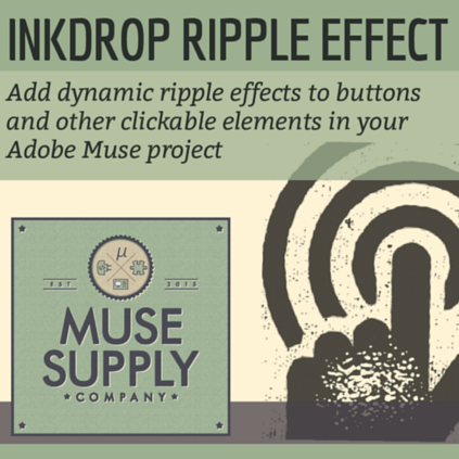 InkDrop Ripple Effect
