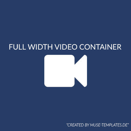 Full Width Video Container