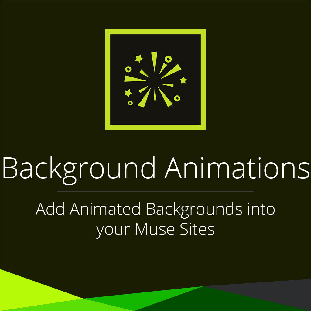 background animations adobe muse widget