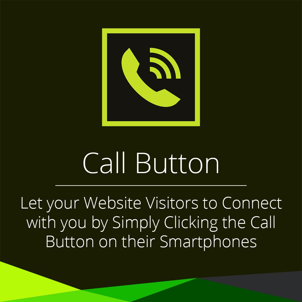 Call button adobe muse widget