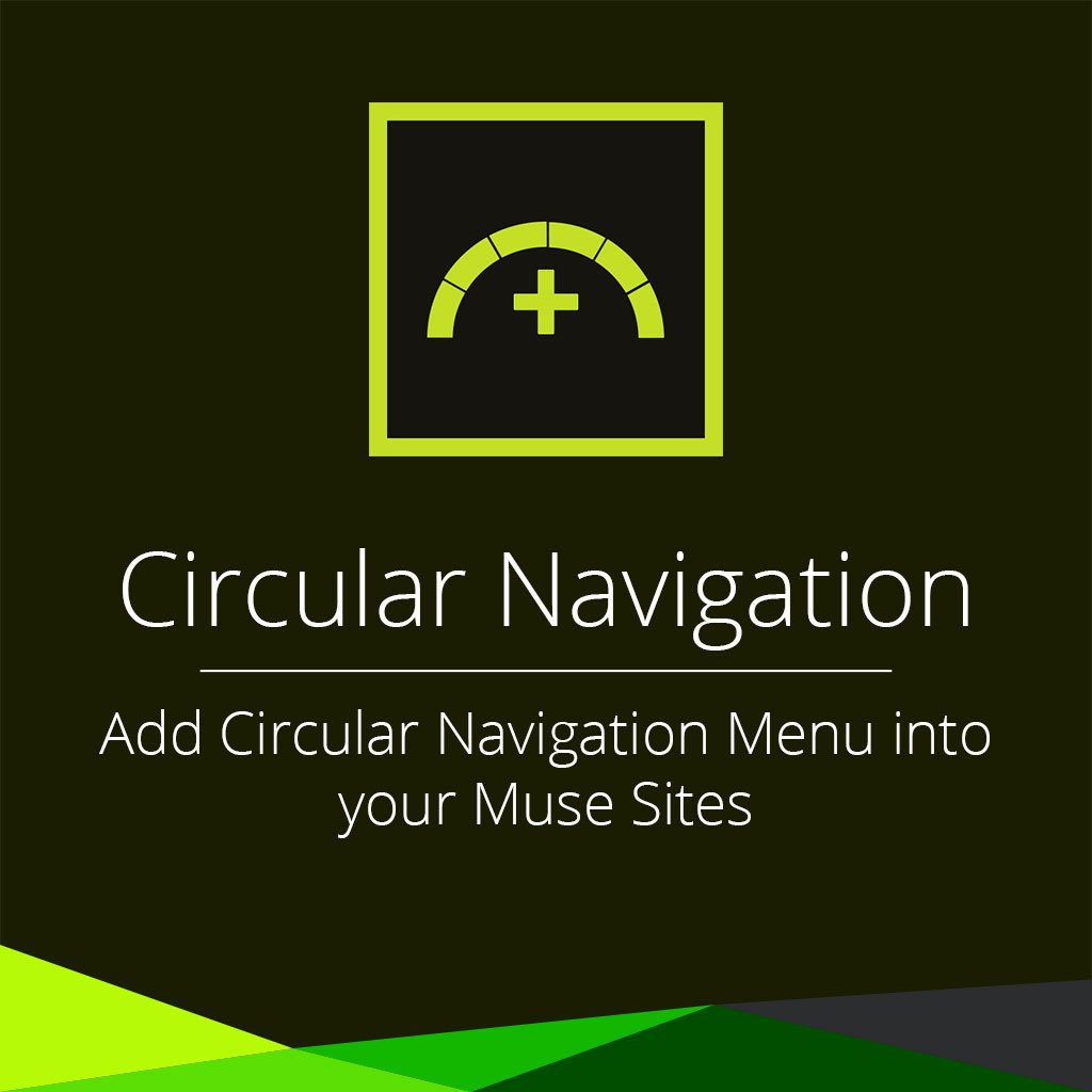 Circular navigation adobe muse widget