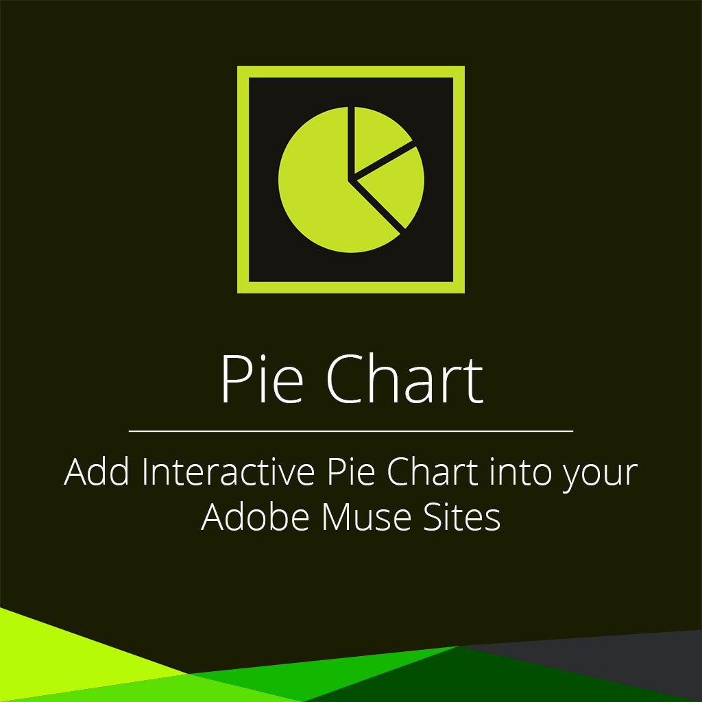 Pie chart adobe muse widget