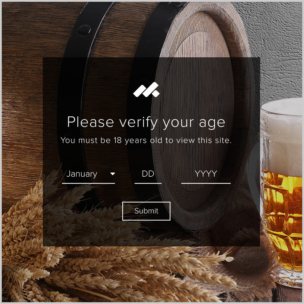 Age Verification Adobe Muse Widget