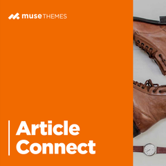 Article Connect Adobe Muse Widget