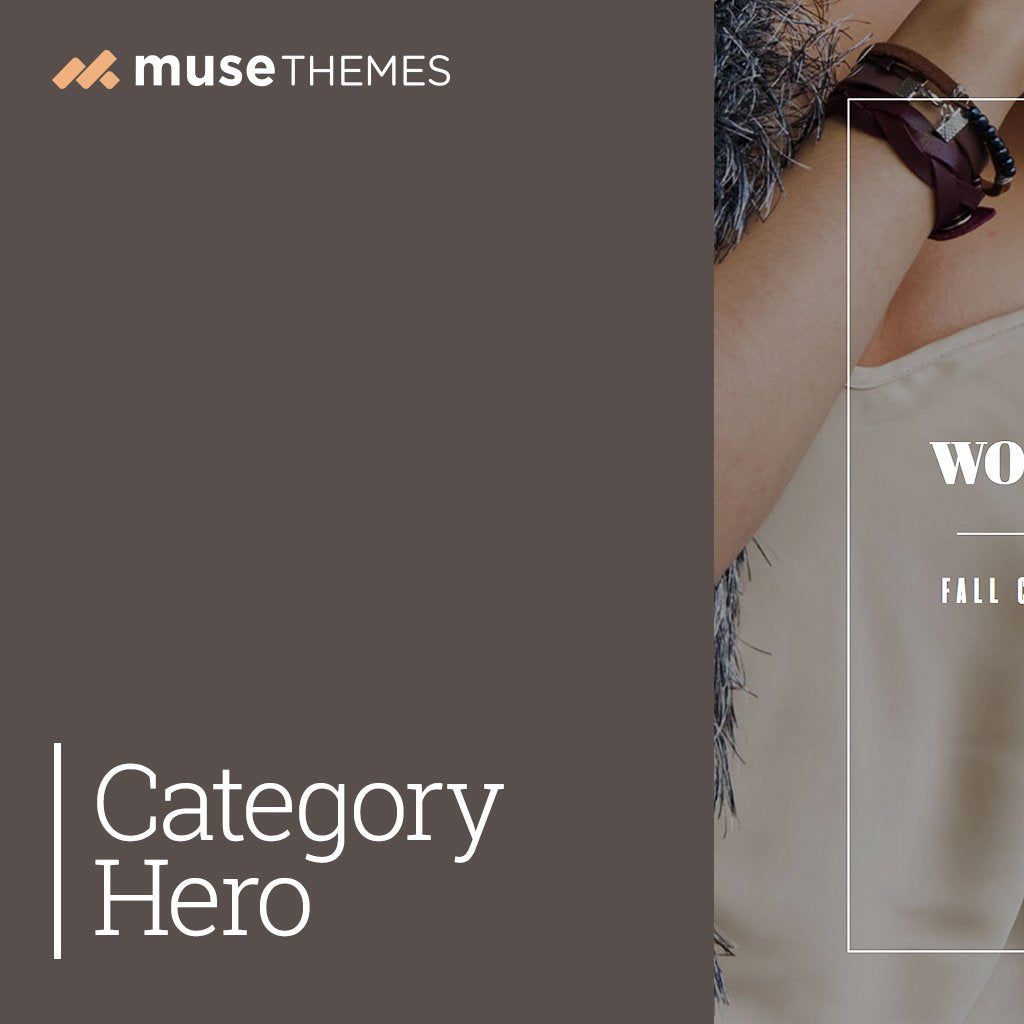 Category Hero Adobe Muse Widget